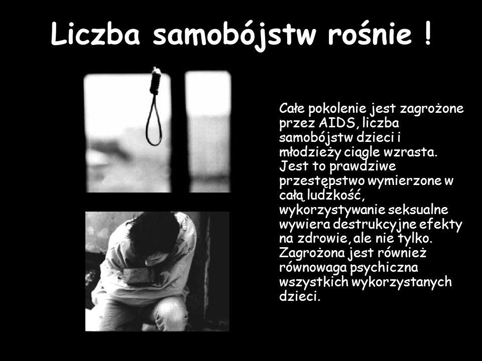 Liczba samobójstw rośnie !