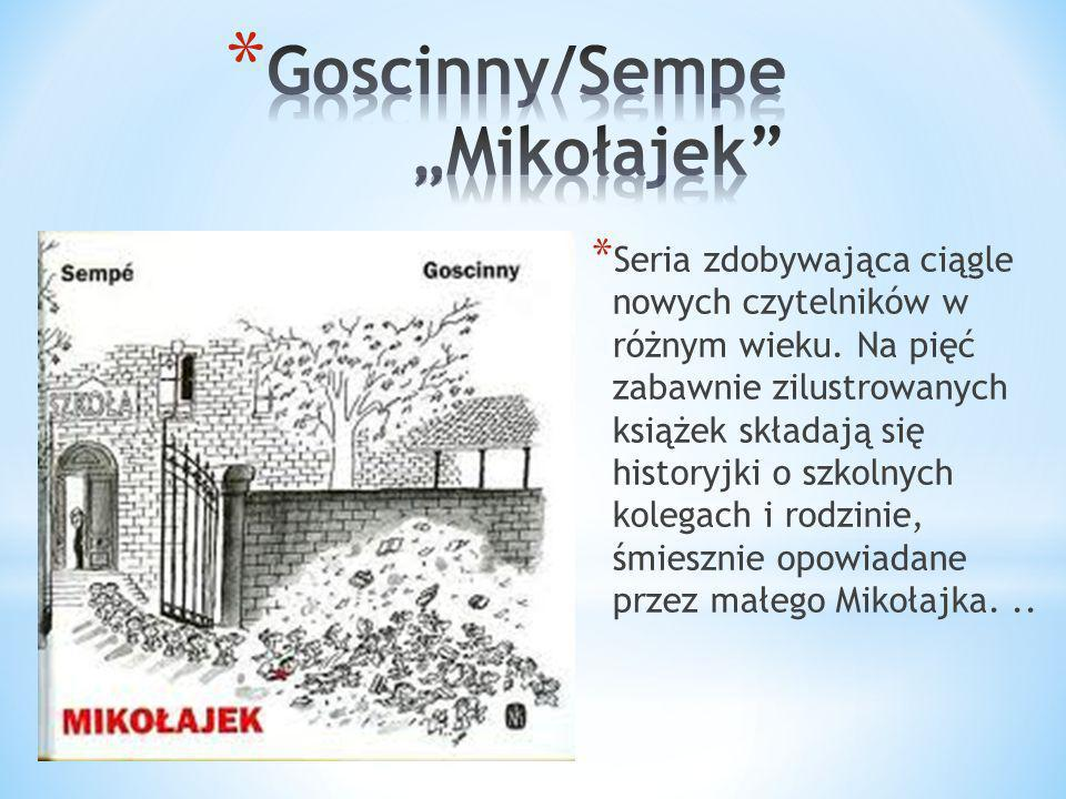 "Goscinny/Sempe ""Mikołajek"