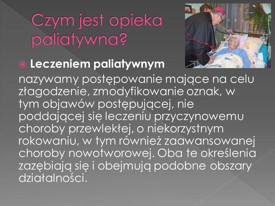 Czym jest opieka paliatywna