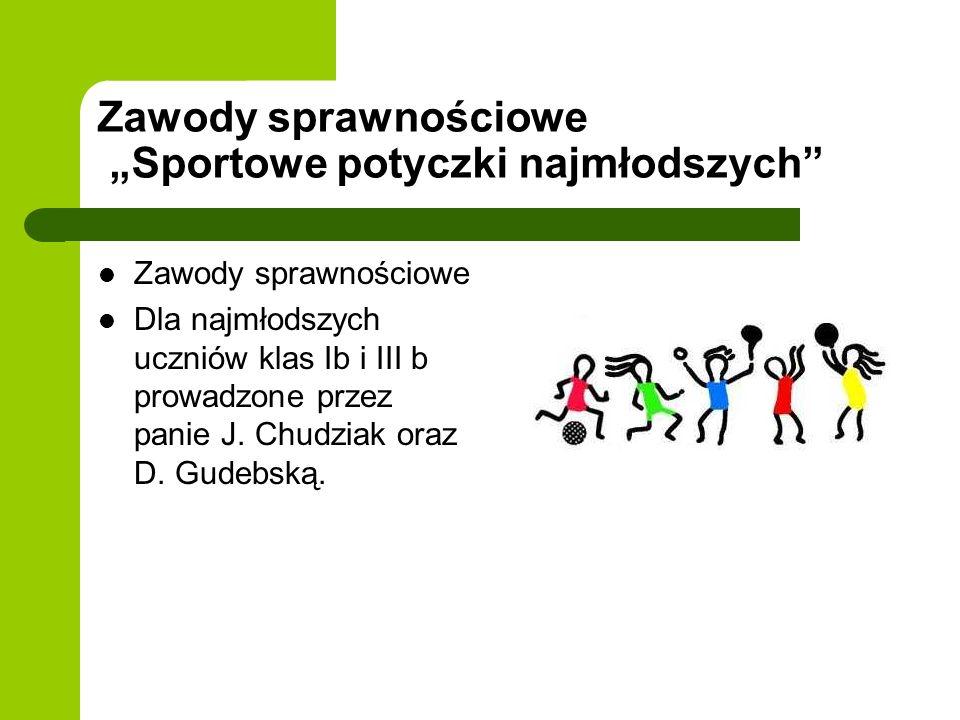 """Zawody sprawnościowe """"Sportowe potyczki najmłodszych"""