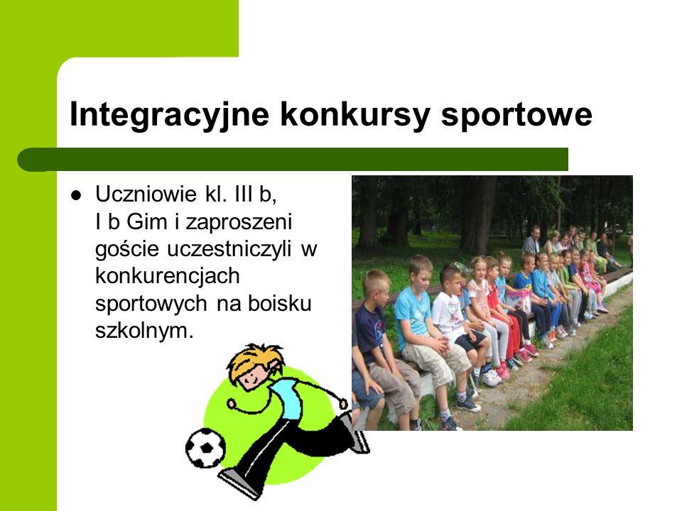Integracyjne konkursy sportowe