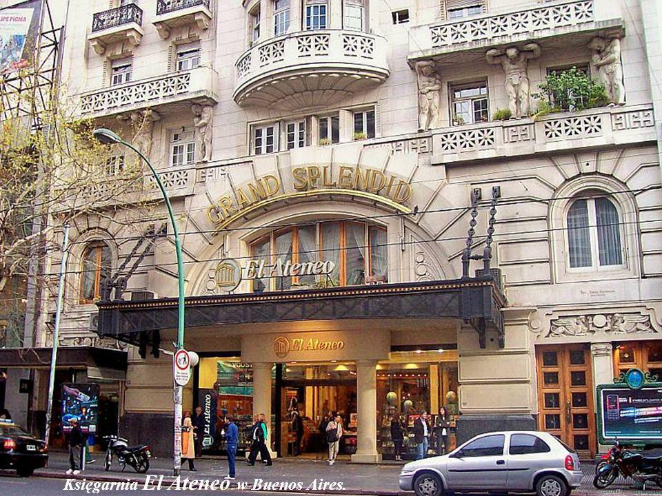 Księgarnia El Ateneo w Buenos Aires.
