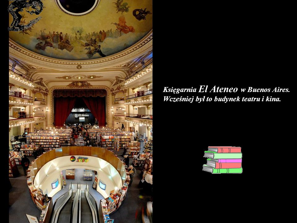 Księgarnia El Ateneo w Buenos Aires