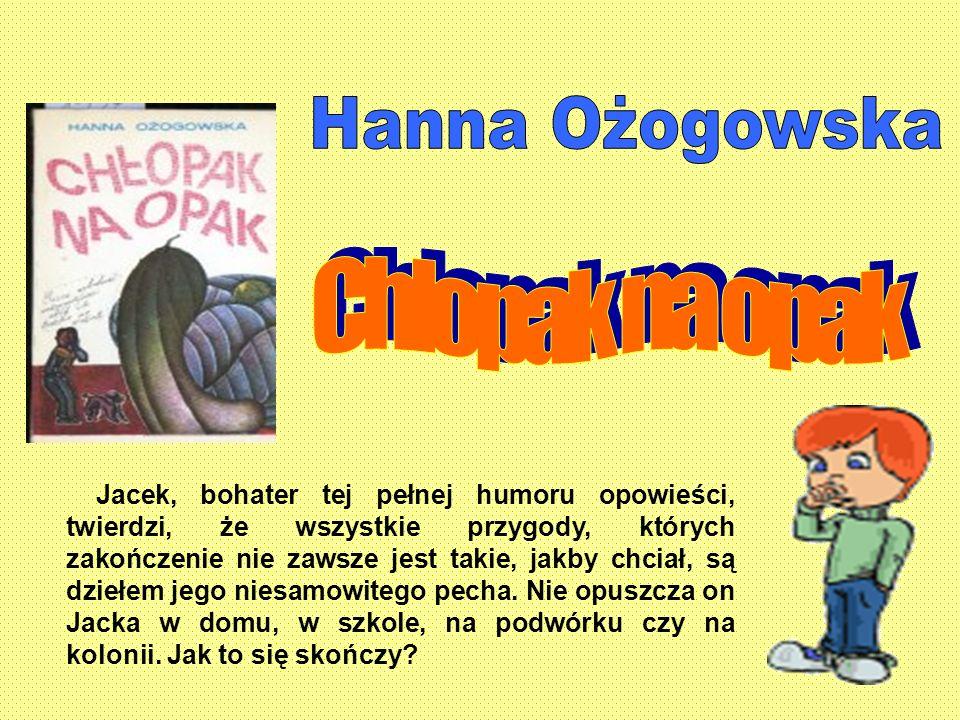 Hanna Ożogowska Chłopak na opak