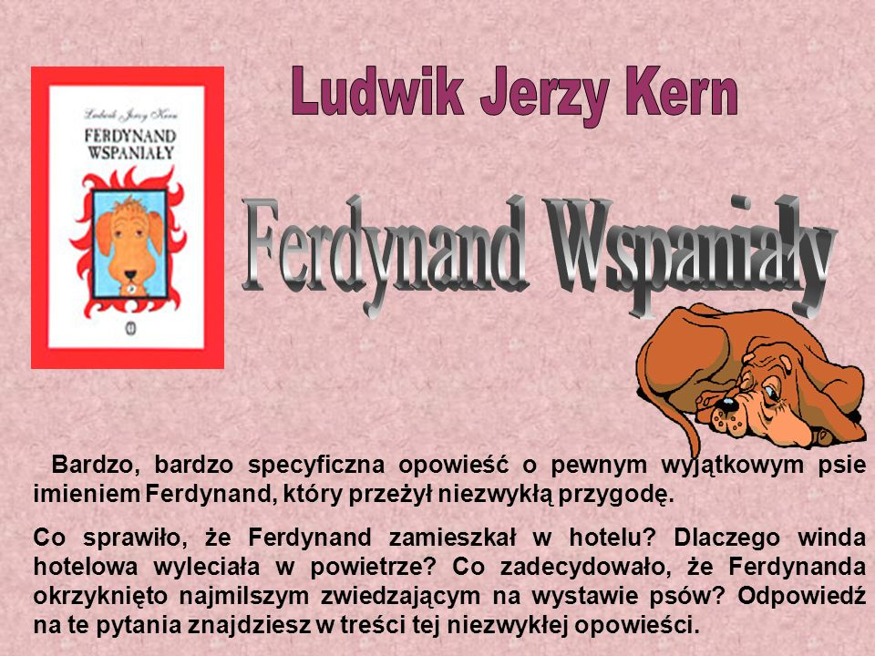 Ferdynand Wspaniały Ludwik Jerzy Kern