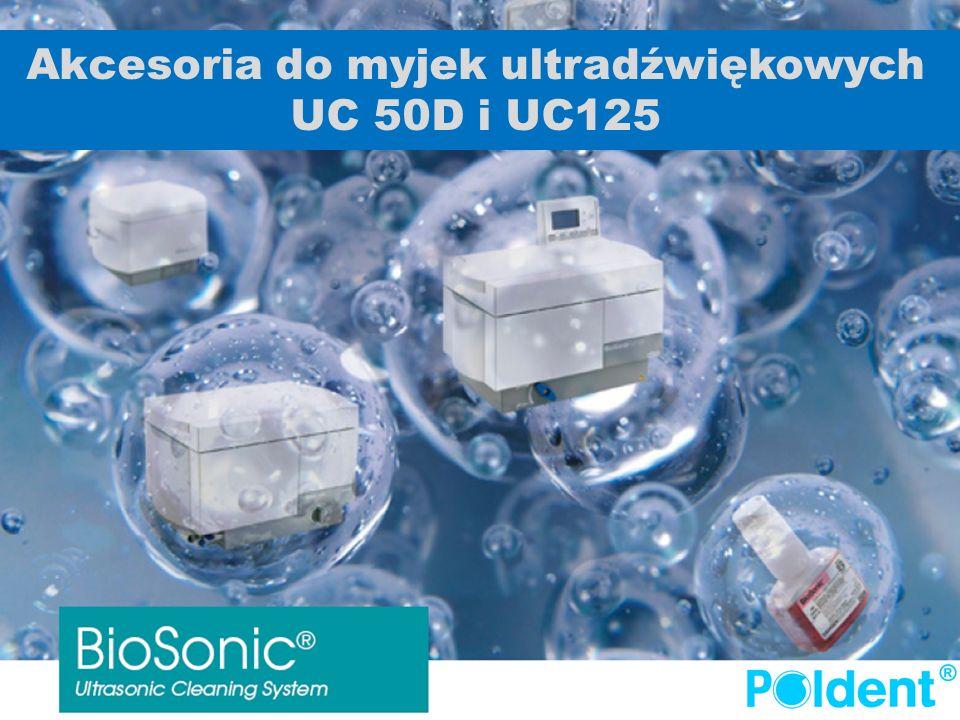 Akcesoria do myjek ultradźwiękowych UC 50D i UC125