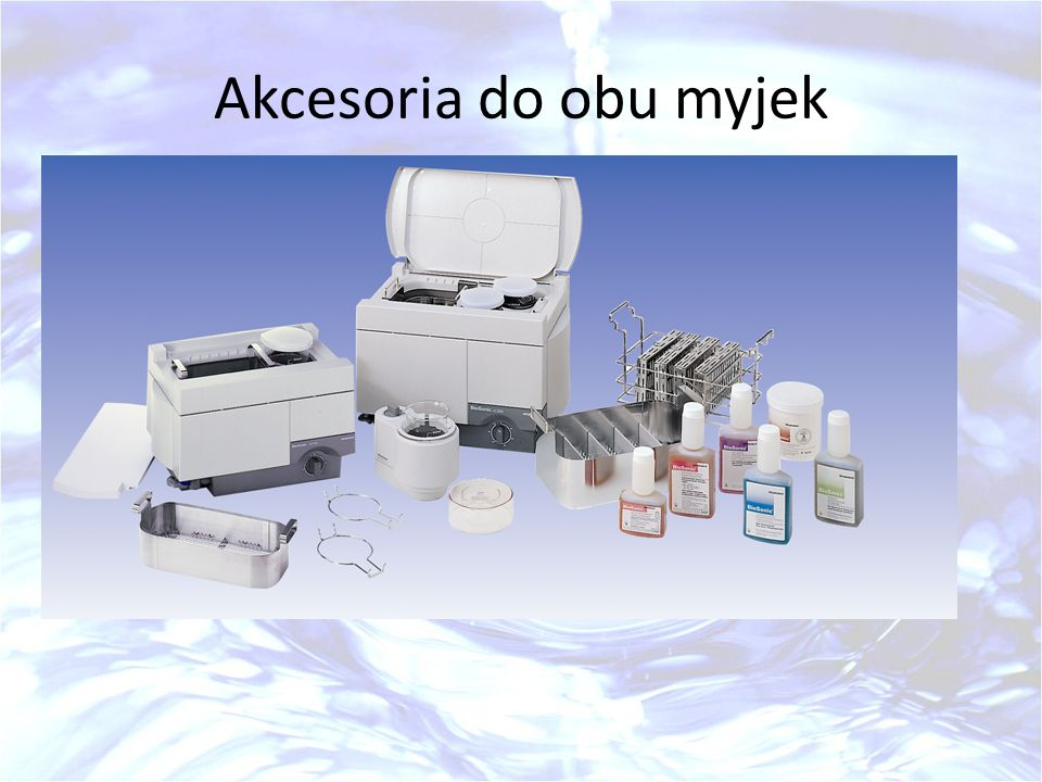 Akcesoria do obu myjek