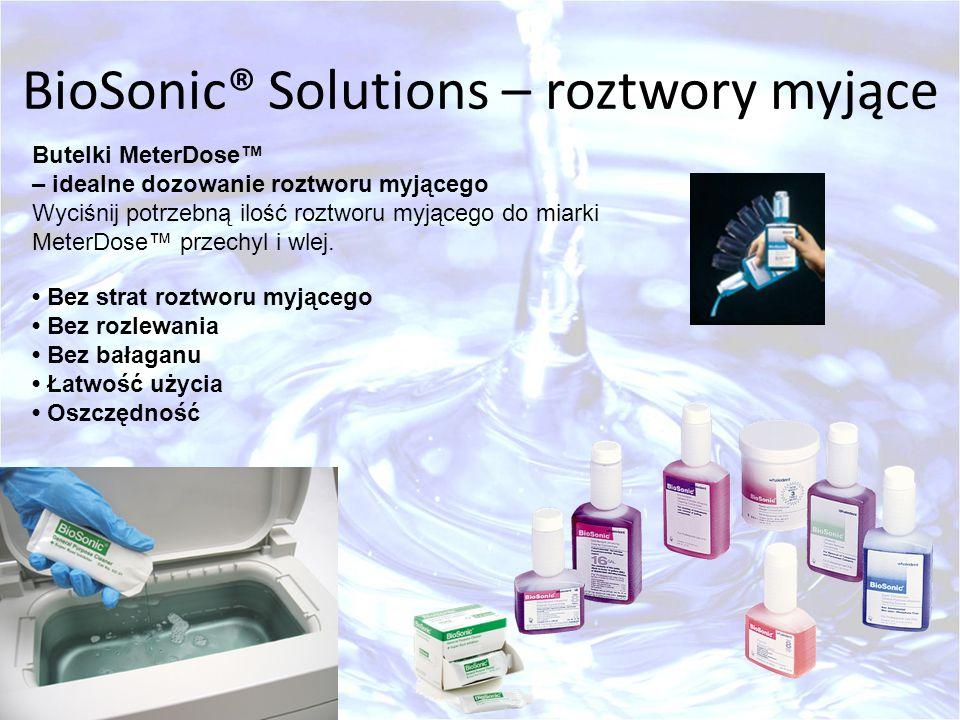BioSonic® Solutions – roztwory myjące