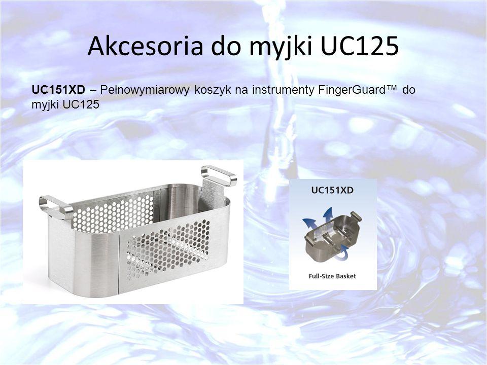 Akcesoria do myjki UC125 UC151XD – Pełnowymiarowy koszyk na instrumenty FingerGuard™ do myjki UC125
