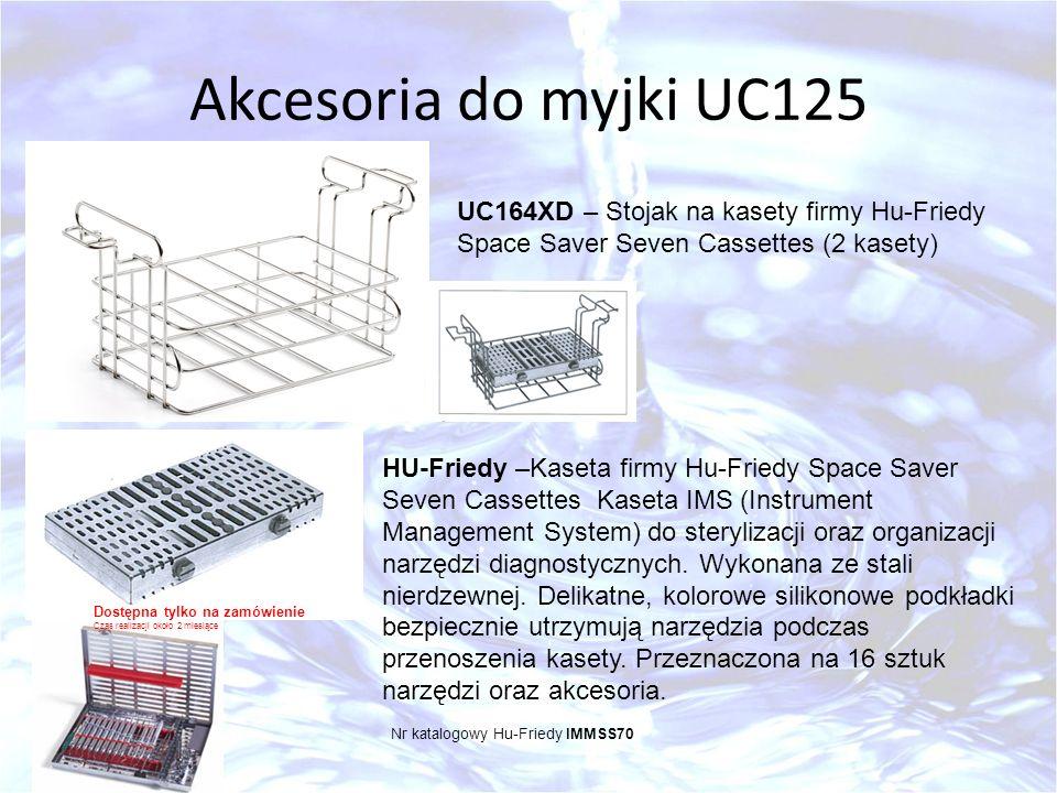 Akcesoria do myjki UC125 UC164XD – Stojak na kasety firmy Hu-Friedy Space Saver Seven Cassettes (2 kasety)