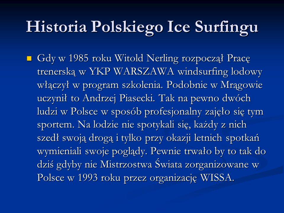 Historia Polskiego Ice Surfingu