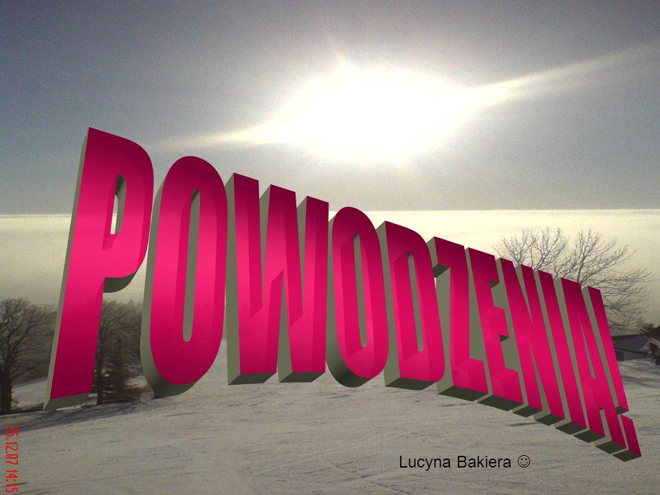 POWODZENIA! Lucyna Bakiera 