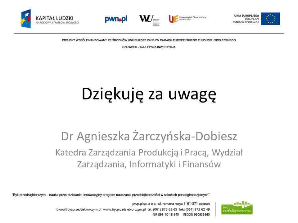 Dr Agnieszka Żarczyńska-Dobiesz