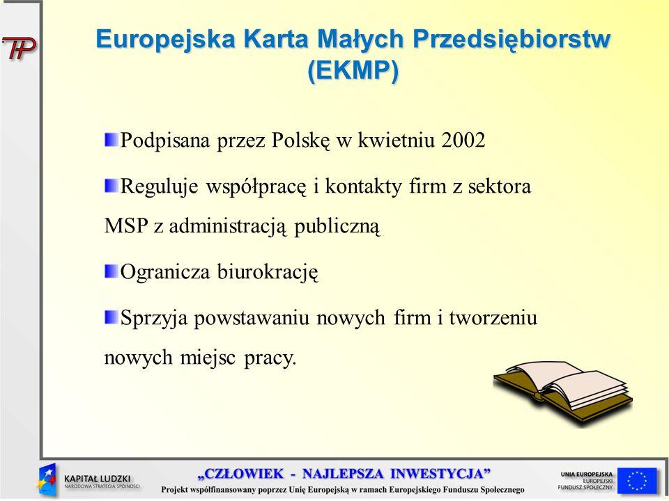 Europejska Karta Małych Przedsiębiorstw (EKMP)