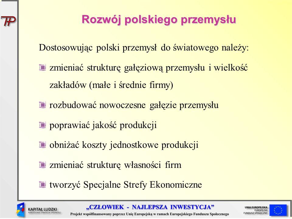 Rozwój polskiego przemysłu