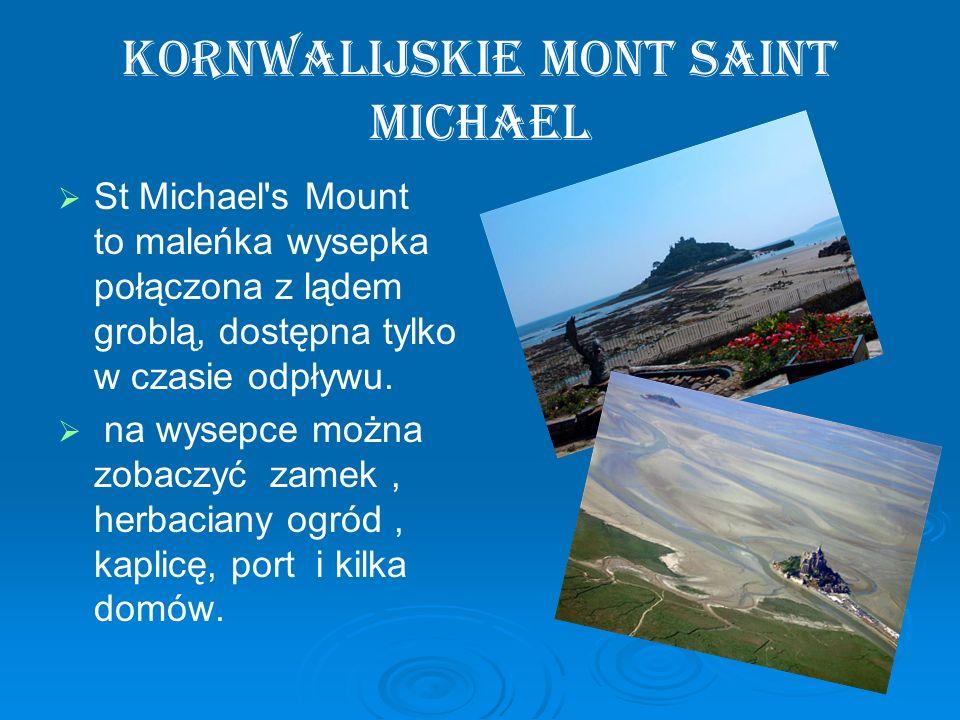 Kornwalijskie Mont Saint Michael