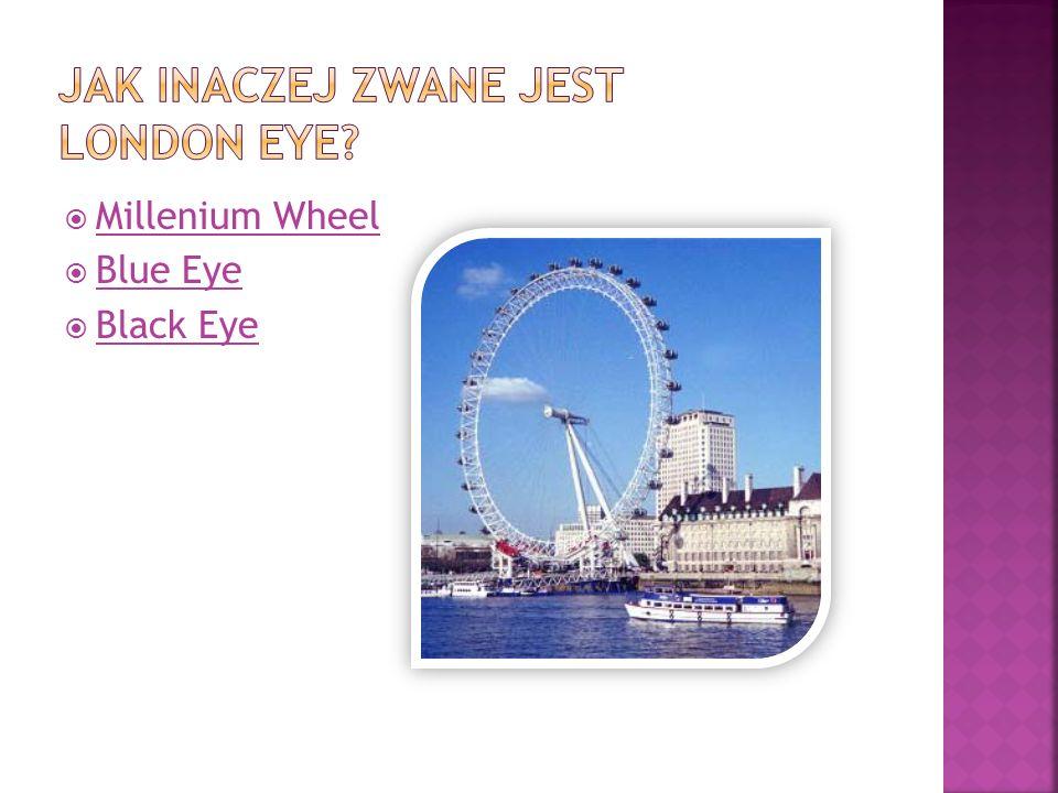 Jak inaczej zwane jest London Eye