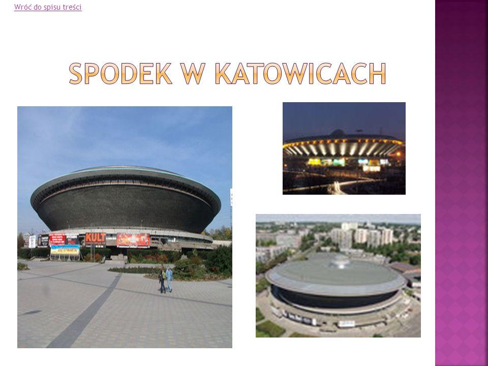 Wróć do spisu treści Spodek w Katowicach