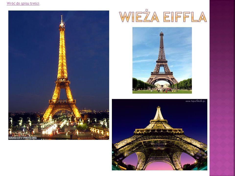 Wróć do spisu treści Wieża Eiffla