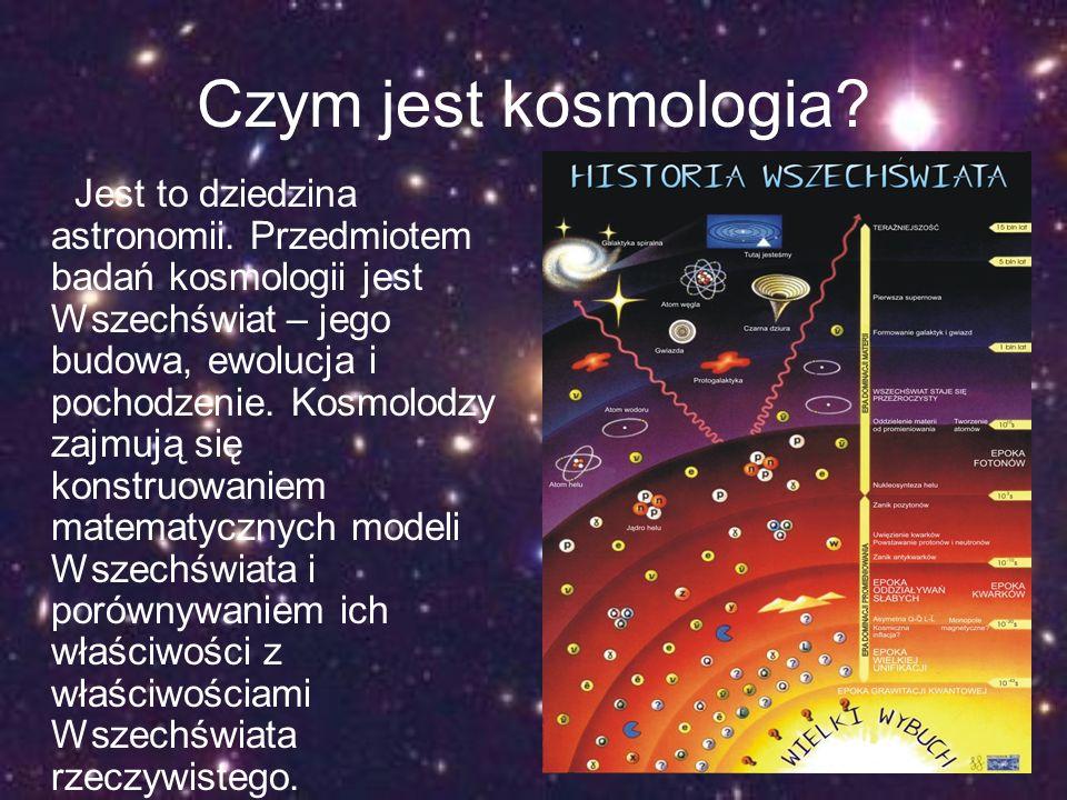 Czym jest kosmologia