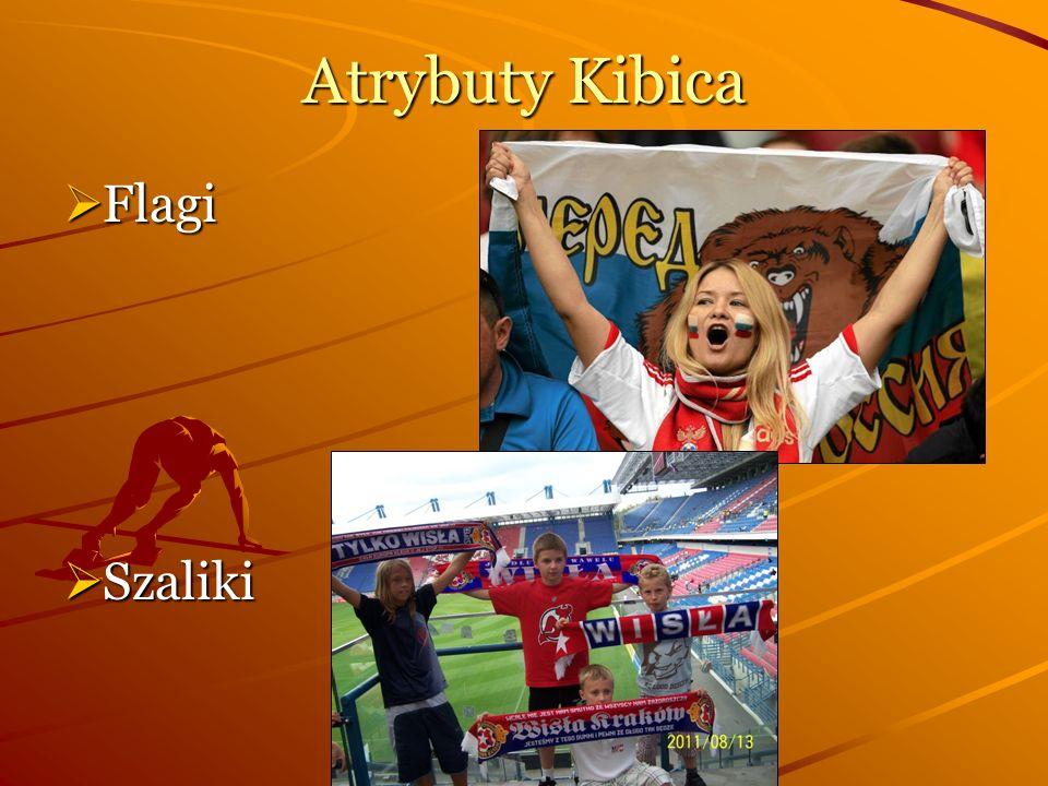 Atrybuty Kibica Flagi Szaliki