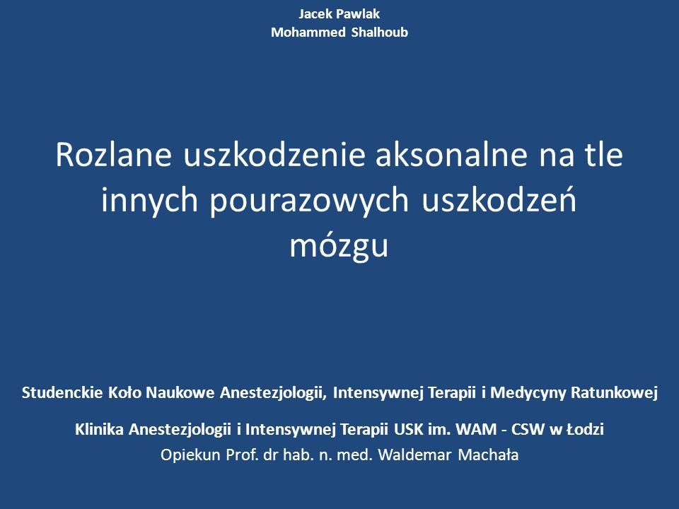 Klinika Anestezjologii i Intensywnej Terapii USK im. WAM - CSW w Łodzi