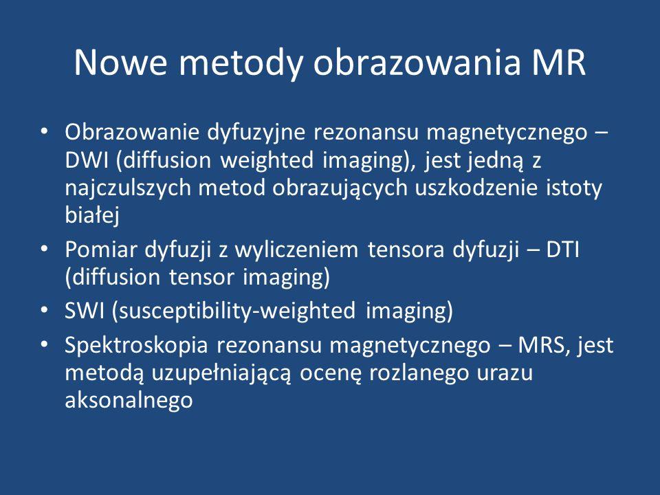 Nowe metody obrazowania MR