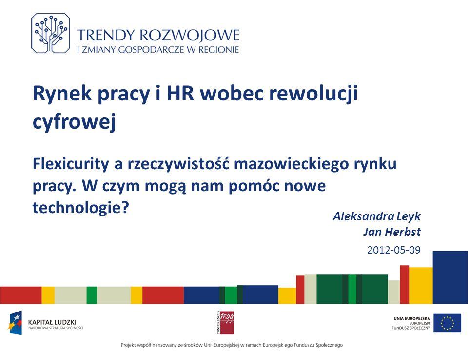 Rynek pracy i HR wobec rewolucji cyfrowej