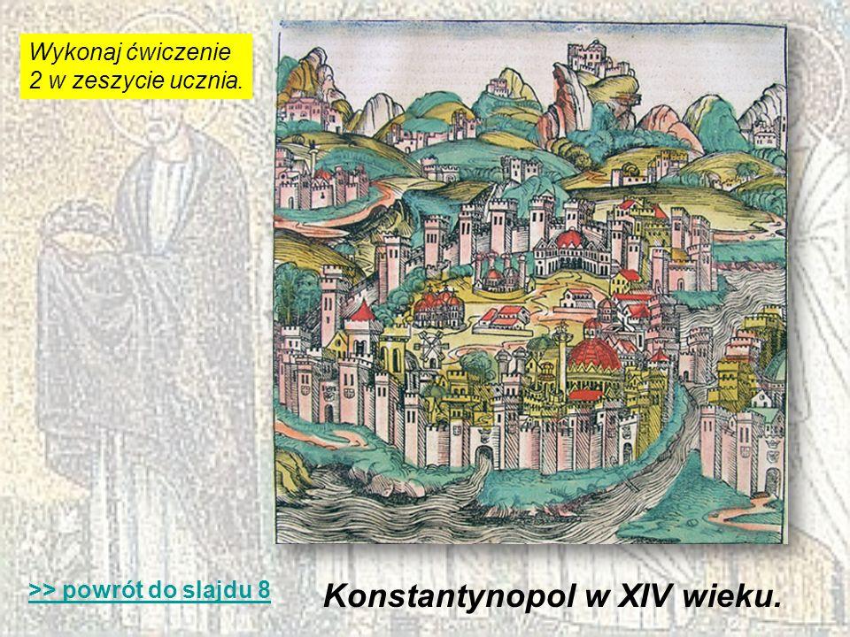 Konstantynopol w XIV wieku.