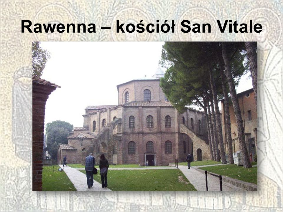 Rawenna – kościół San Vitale