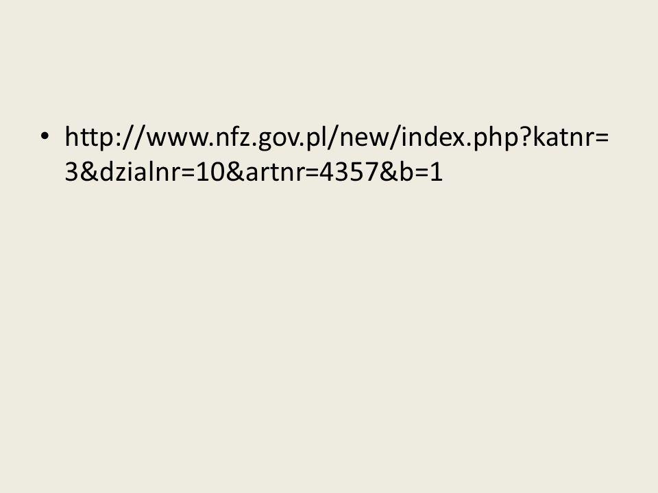 http://www. nfz. gov. pl/new/index. php