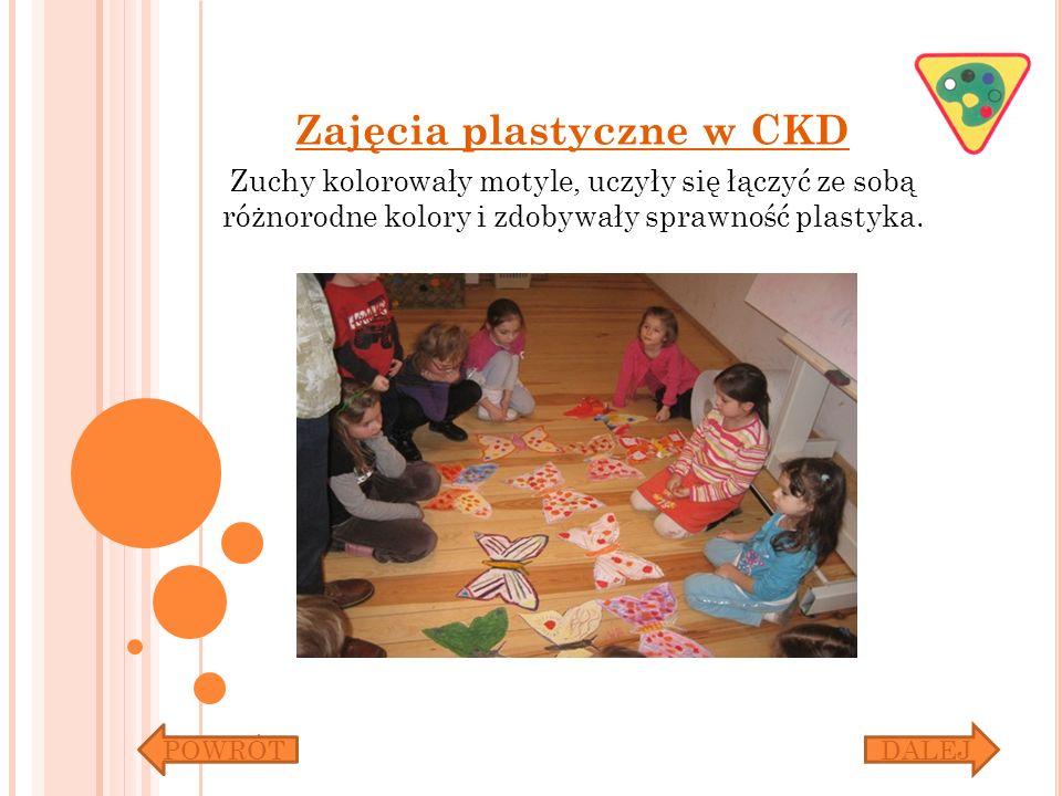 Zajęcia plastyczne w CKD