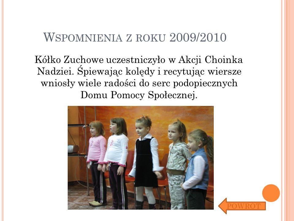 Wspomnienia z roku 2009/2010