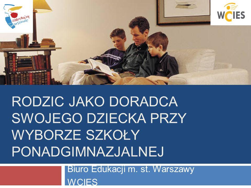 Biuro Edukacji m. st. Warszawy WCIES