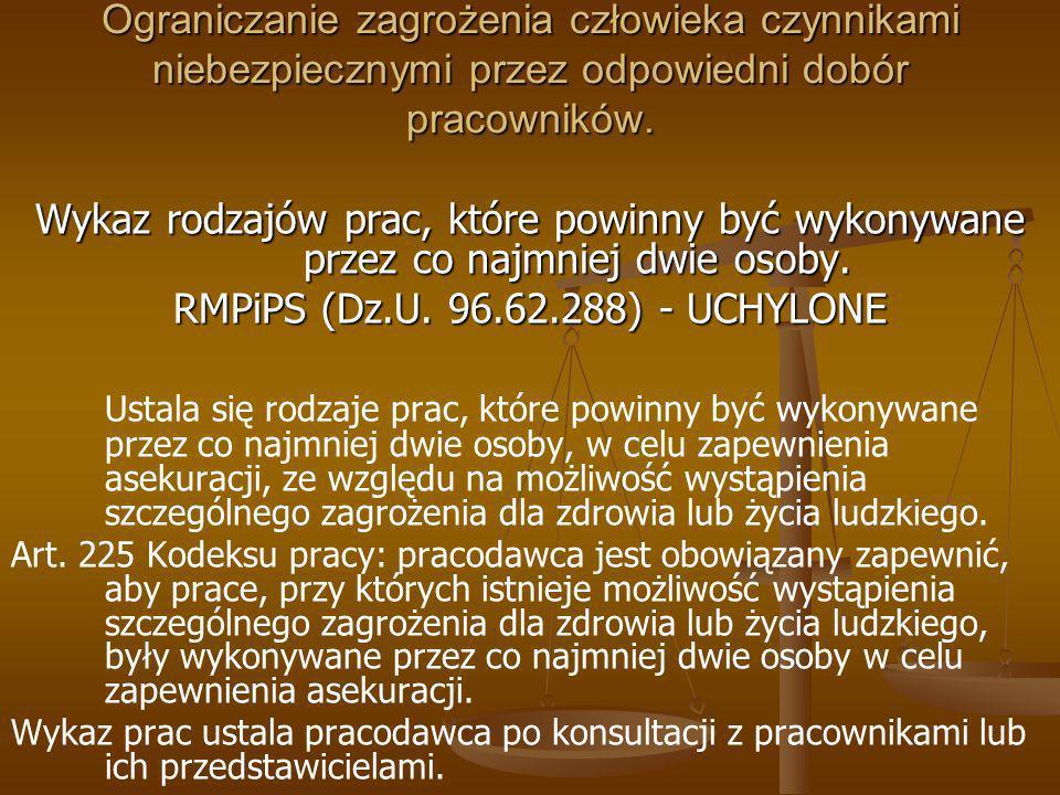 RMPiPS (Dz.U. 96.62.288) - UCHYLONE