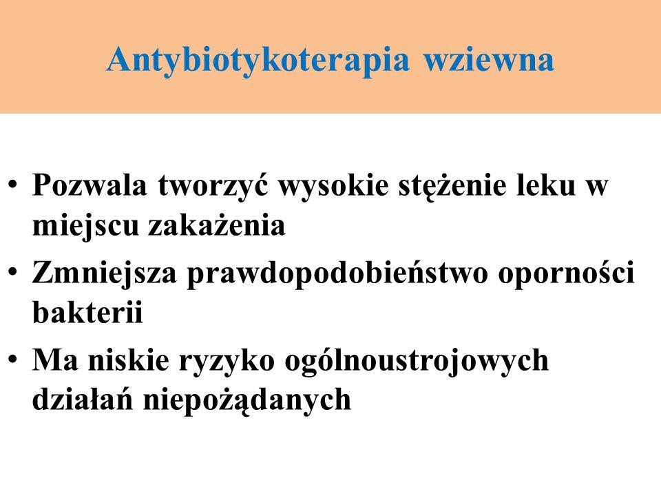 Antybiotykoterapia wziewna