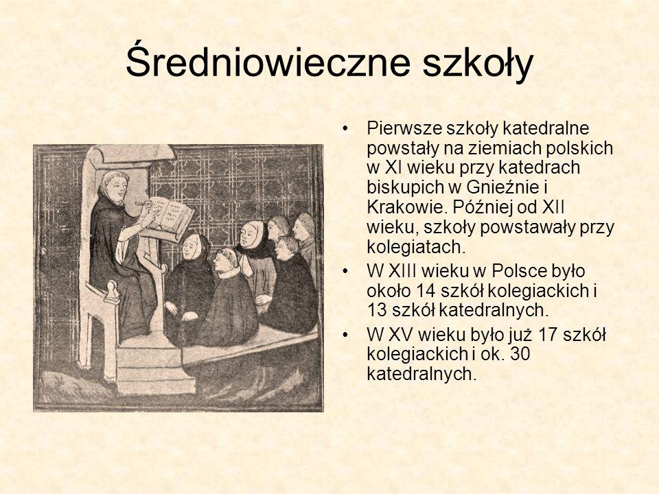 Średniowieczne szkoły