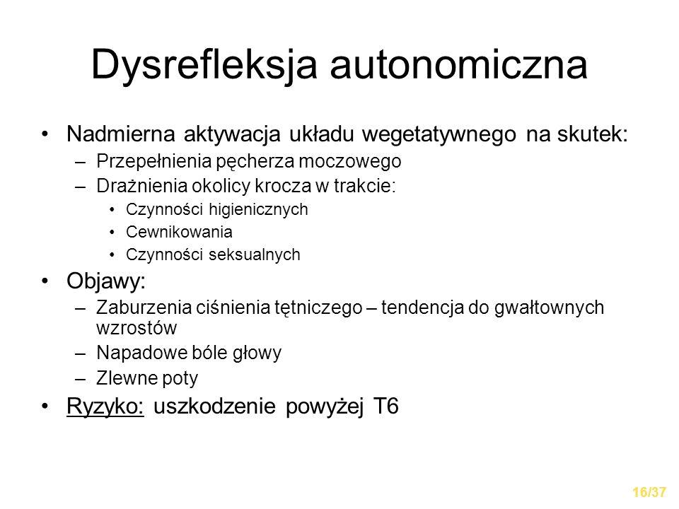 Dysrefleksja autonomiczna