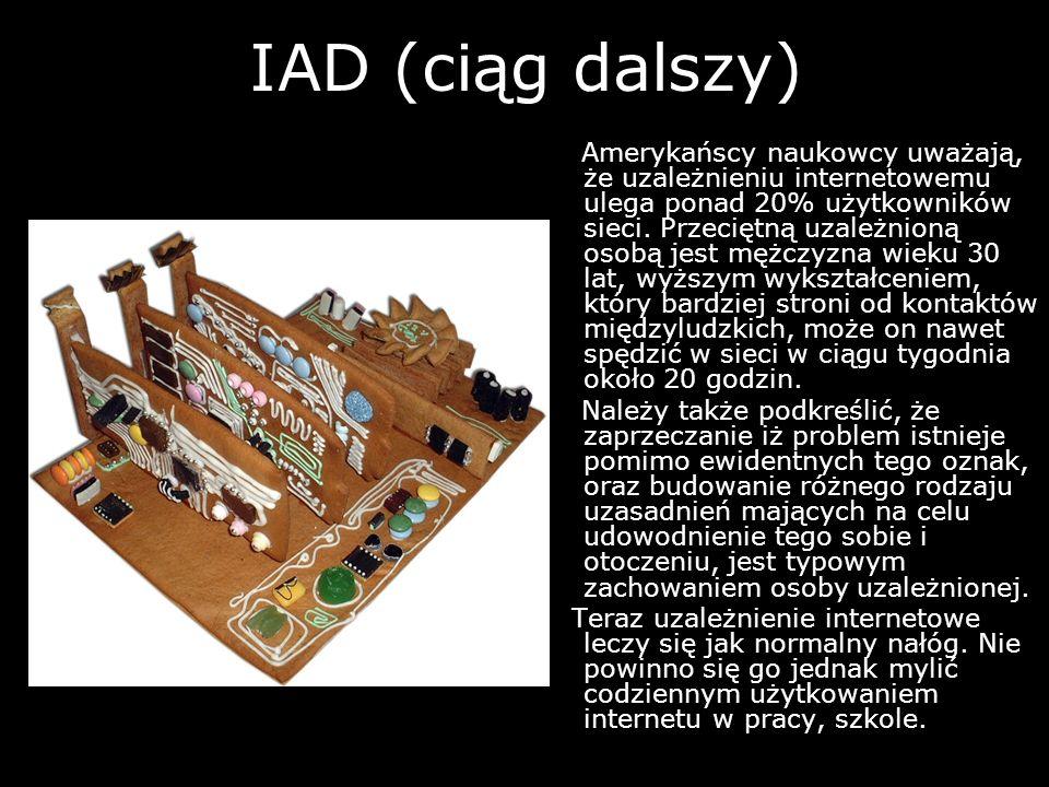 IAD (ciąg dalszy)
