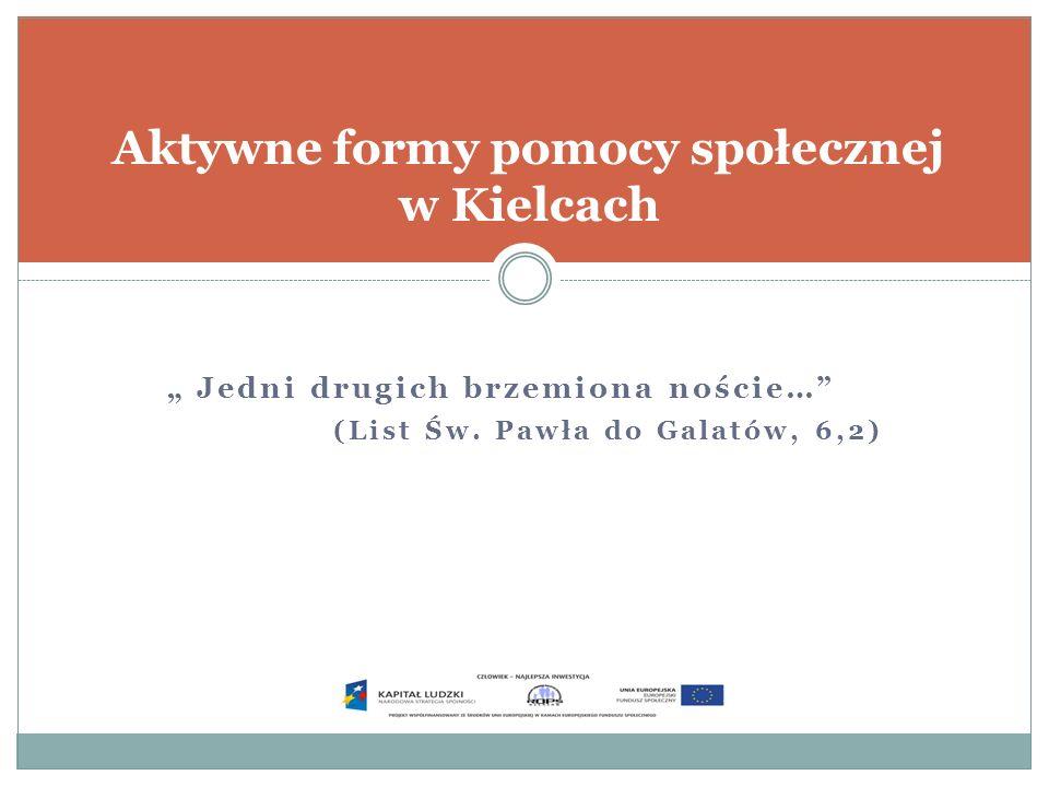 Aktywne formy pomocy społecznej w Kielcach