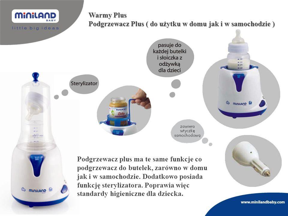 Warmy Plus Podgrzewacz Plus ( do użytku w domu jak i w samochodzie )