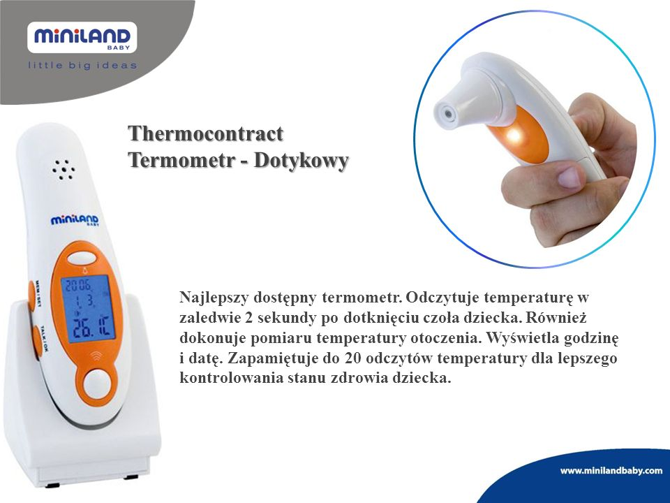 Thermocontract Termometr - Dotykowy