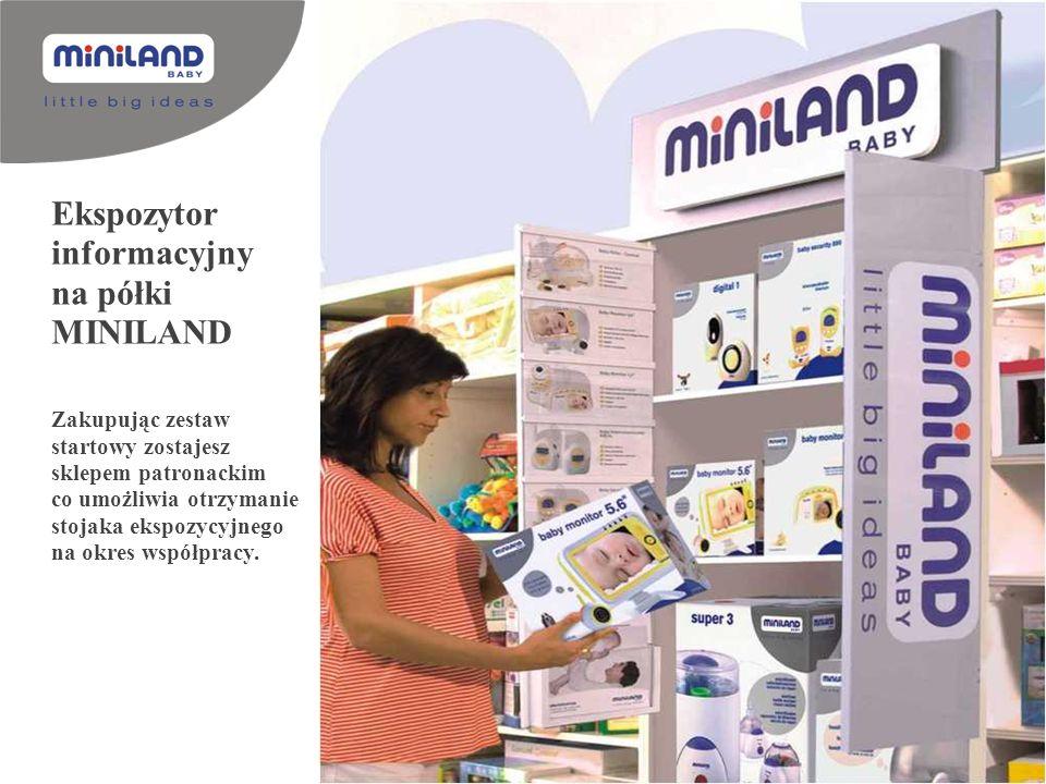 Ekspozytor informacyjny na półki MINILAND Zakupując zestaw