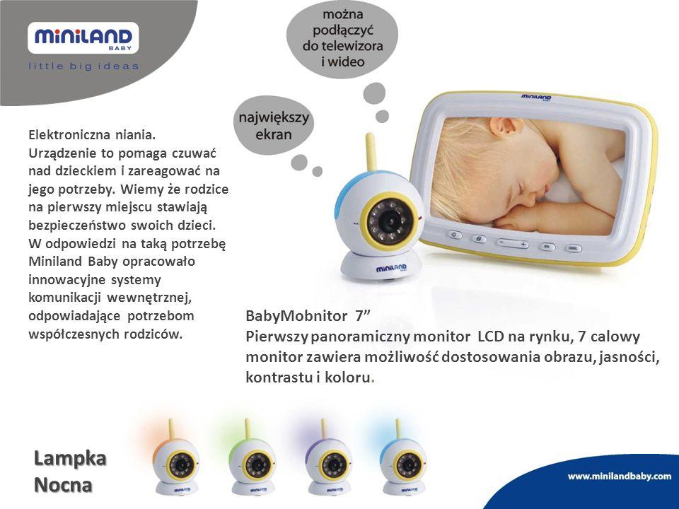 Lampka Nocna BabyMobnitor 7
