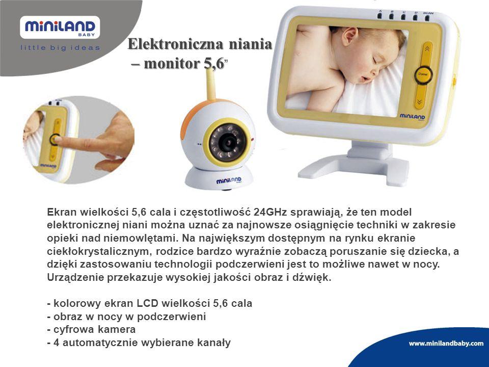 Elektroniczna niania – monitor 5,6