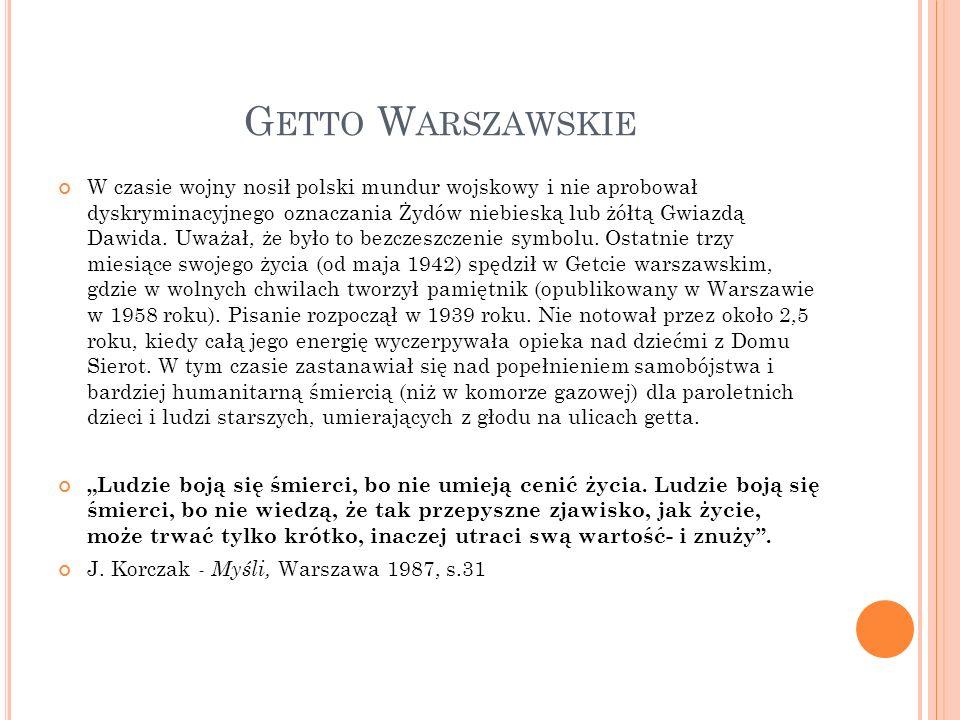 Getto Warszawskie