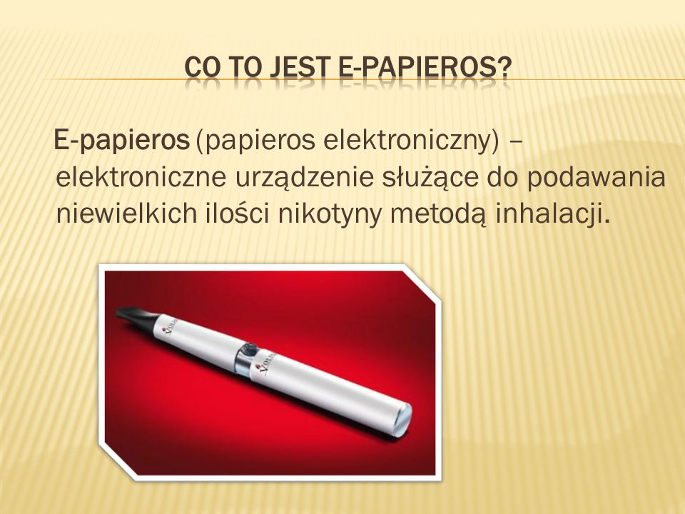 CO TO JEST E-PAPIEROS