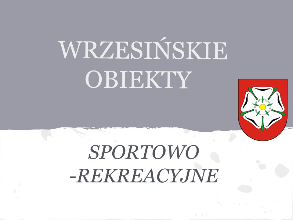 SPORTOWO -REKREACYJNE