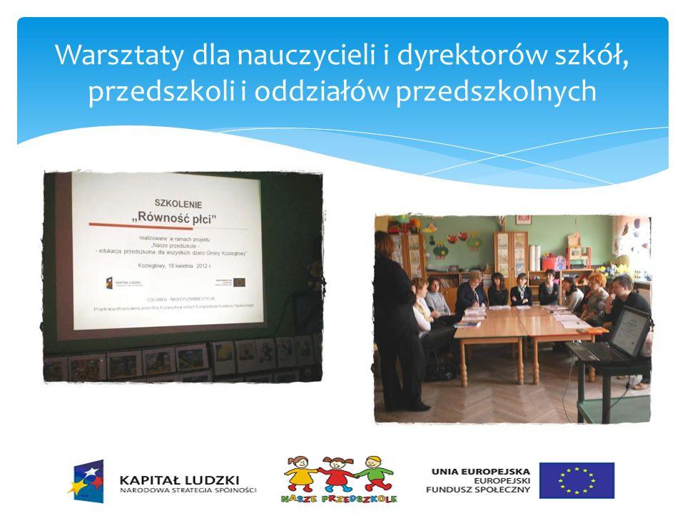 Warsztaty dla nauczycieli i dyrektorów szkół, przedszkoli i oddziałów przedszkolnych