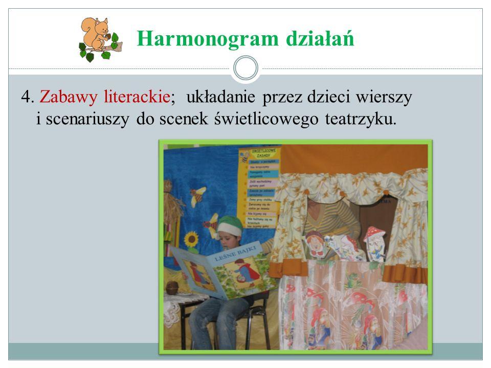 Harmonogram działań 4.